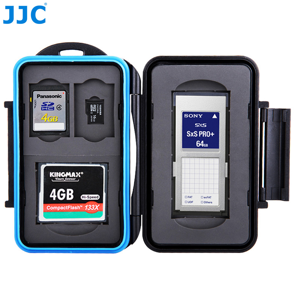 Ex-Pro® Tough-store Waterproof Memory Card Case for SD SDHC XC CF Canon BLACK