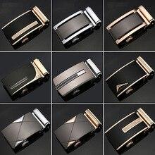 22 Style Luxury Brand Designer Belt Buckle Male Kemer Metal Automatic Buckle Horses Heads High Quality Gold Belt Buckle Men