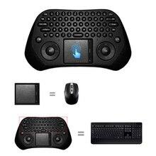 Measy GP800 USB Wireless Touchpad ratón del teclado de Android PC Smart TV alta calidad