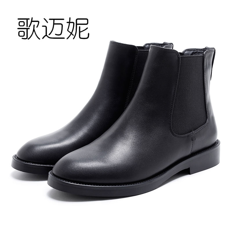 chelsea boots womens winter shoes ankle boots women bota feminina botas mujer botines mujer boot laarzen ladies leather boots ladies embroidered boots womens ankle boots for women winter boots black boot botas mujer bottine botte femme laarzen botines