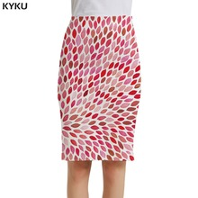 KYKU Colorful Skirts Women Stone Sexy Harajuku Casual Pencil Sundresses Ladies Skirts Womens Knitted Cool New High Quality kyku brand bird skirts women animal floral rose party flower pencil butterfly casual sexy ladies skirts womens cool sundresses