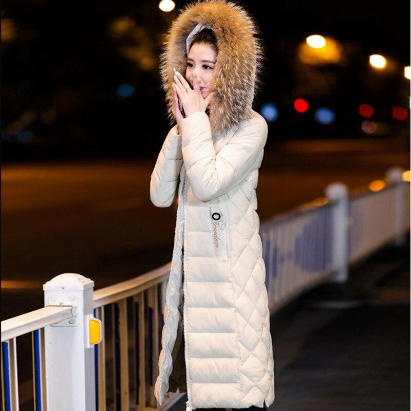 D'hiver Nouveau Moyen Bas yellow Manteau La Parkas Le Odfvebx white Coton De Long Black bean 2019 Mince Veste Femmes Plus Vers Femelle Genou Marée Red Taille YXPnWTTF
