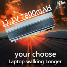 HSW Laptop Battery For Dell Latitude E6400 E6410 E6500 E6510 PT434 PT435 laptop battery PT436 PT437 R822G U844G W0X4F battery new 12 cells laptop battery for dell latitude e6400 e6410 e6500 e6510 pt434 pt435 pt436 pt437 free shipping