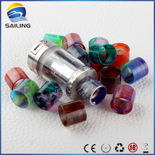Sailing vape Epoxy resin drip tips mouthpiece wide bore for aspire cleito electronic cigarette
