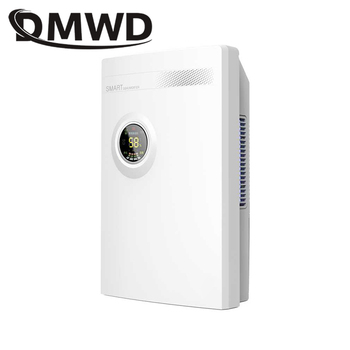 DMWD Intelligent Dehumidifier Cabinet Desiccant Moisture Absorber Timing Air Cooling Dryer Purifier Absorbing Machine 2.2L Tank