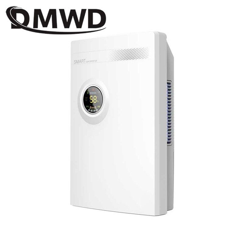 DMWD Intelligente Déshumidificateur absorbeur D'humidité ultra-silencieux calendrier Drainage Machine Accueil sécheur d'air purificateur d'air Salle de Bain 2200 ml