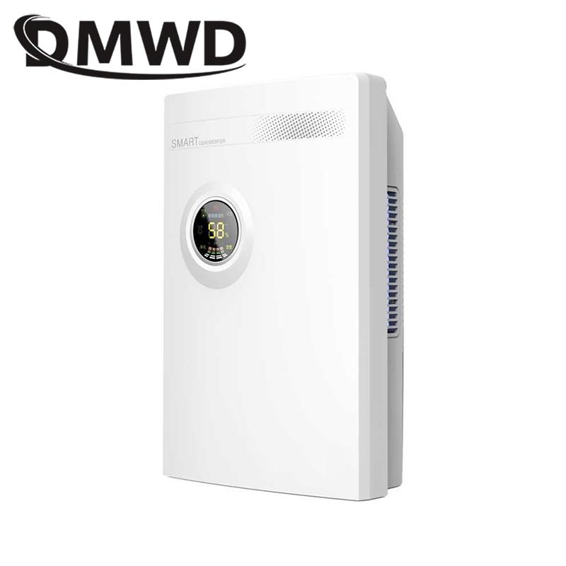 DMWD Intelligente Déshumidificateur absorbeur d'humidité ultra-silencieux calendrier machine de drainage séchoir à air Accueil Salle De Bains purificateur d'air 2200 ml