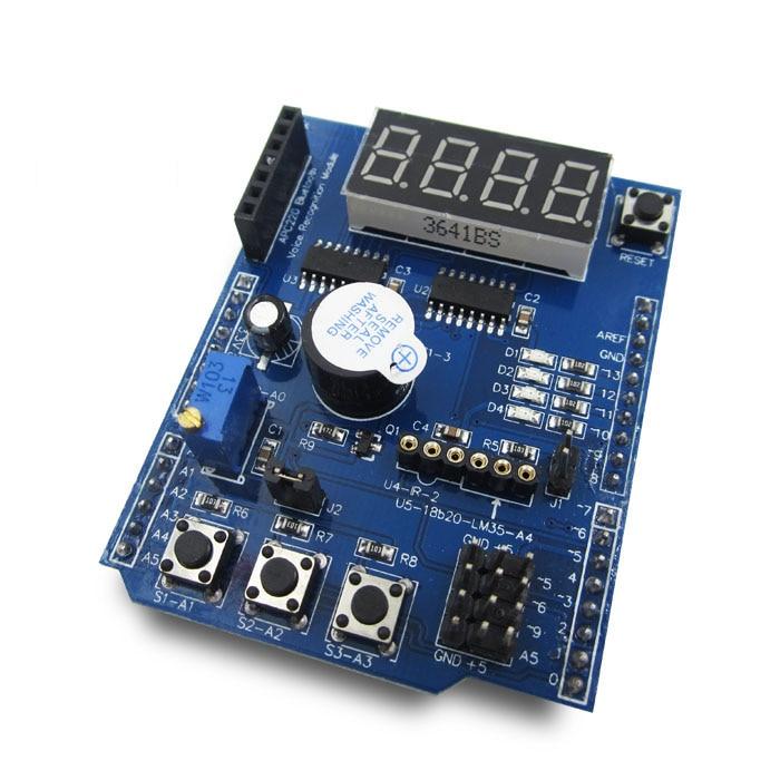 HAILANGNIAO 1pcs Multifunctional Expansion Board Kit Based Learning UNO R3 LENARDO Mega 2560 Shield XD-203