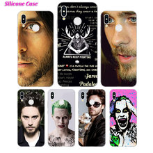 Silicone Case Jared Leto 30 Seconds To Mars for Huawei Nova 3 4 Honor 7C 7A 8 8X 9 10 Y5 Y6 Y7 Y9 V20 Lite Pro 2019 2018 Cover