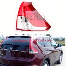 MIZIAUTO 1PCS LED Rear Tail Light for Honda CRV 2012 2013 2014 Brake Lamp Warning turn signal lights No Bulb