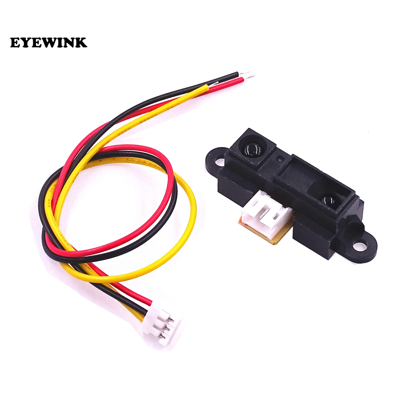 Eyewink Sharp Ir Sensor Gp2y0a21yk0f Measuring Detecting Distance Photo Eye Wiring 10pcs Lot 10 To 80cm With Cable