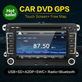 For VW Passat B5 Jetta Golf Bora Polo 2din Autoradio Car DVD GPS Multimedia Navigation HD video Factory Price Free Map canbus