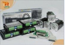 (Корабль США и ЕС Бесплатно) Nema 23 Wantai Шагового Двигателя 425oz-в, 3.0A, 4 Оси С ЧПУ Гравер, резак 3D Принтер Reprap 57BYGH115-003B