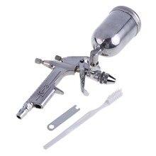 Magie Air Pinsel Spray Gun Sprayer Legierung Malerei Malen Werkzeug 125ml Schwerkraft Fütterung Airbrush Penumatic Möbel Für Malerei Autos