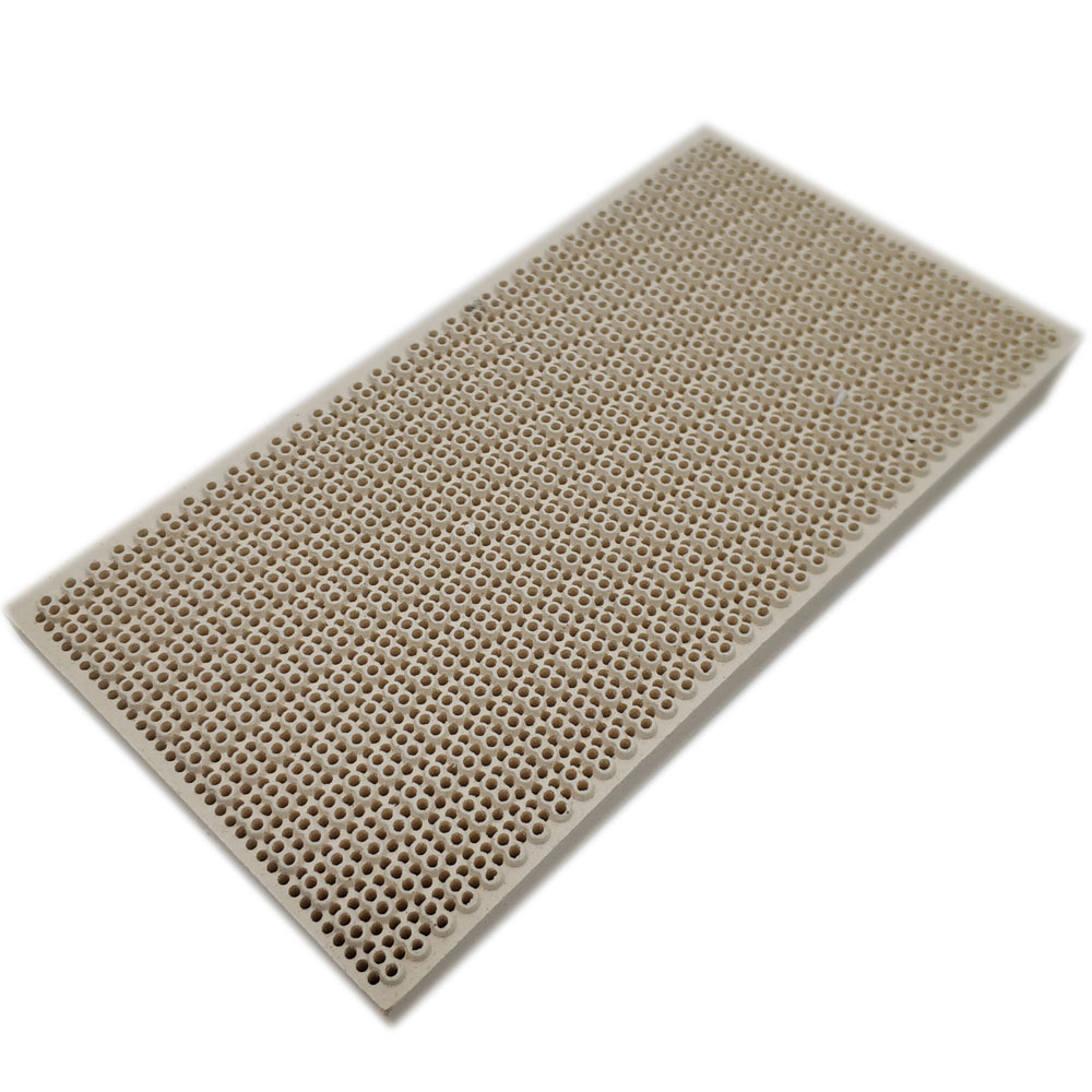 Earth Star Room Space Heater Honeycomb Ceramic Fire Plate Infrared Heating Appliance Ceramic Borad 145*75mm