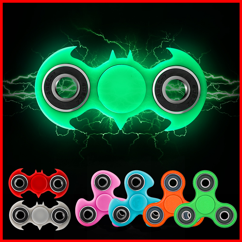 New Fidget Spinner Batman Hand Spinner Triangle Gyro EDC Tri Finger Spiner For Autism ADHD Anxiety Stress Relief Focus Toys Gift new luminous metal fidget spinner triangle gyro edc hand finger spinner for autism adhd anxiety stress relief focus toys gift