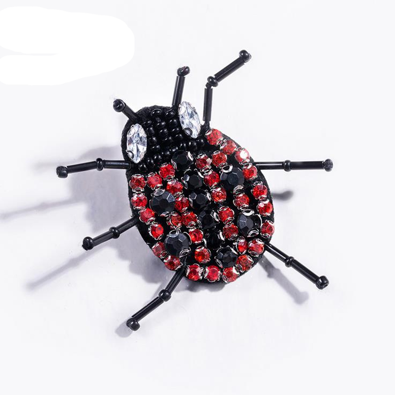 DoreenBeads 2.6x3.8cm Handmade Pin Brooch Creative Insect