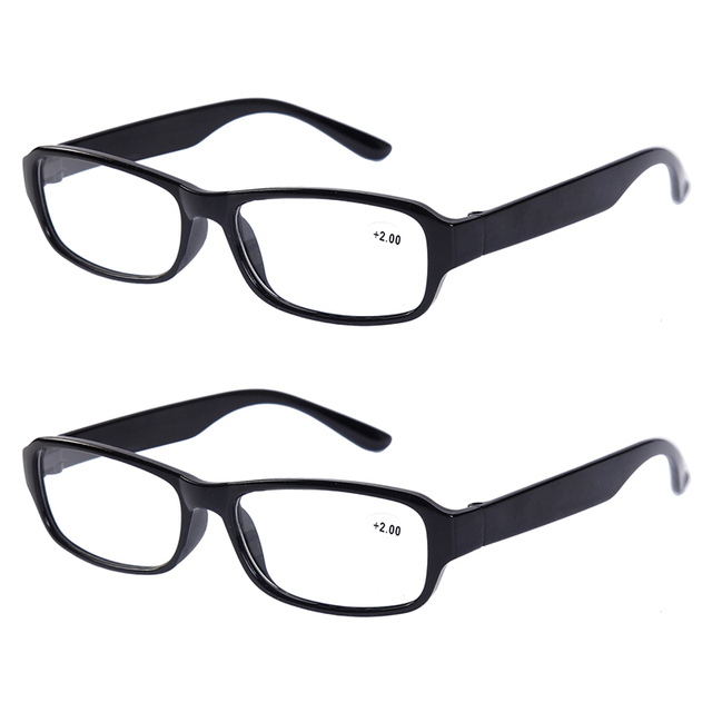 0cfcade8bd 2x Reading Glasses Stylish Classic Everyday Use Readers Eyeglasses Brand  Eyewear Specs Mens Womens Black Tortoise Spectacles New