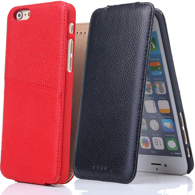 the latest 18d2d f01cf US $13.19 12% OFF|B89 Case For iPhone 6 6G 6S Plus Business Style Genuine  Leather Vertical Flip Phone Cases Cover For Apple iPhone 6Plus 6SPlus -in  ...
