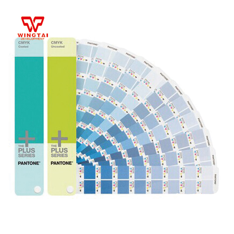 2 Books Pantone CMYK GP5101 Coated Uncoated Color Guide Pantone GP5101 все цены