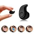 Mini ultra pequeno fone de ouvido com microfone sem fio bluetooth headset handsfree para o telefone móvel huawei xiaomi iphone samsung