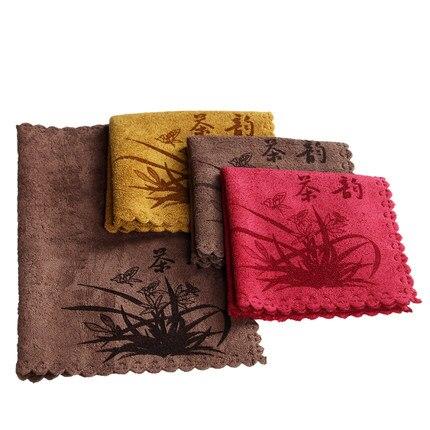 3 pieces Suits Thick tea towel tea table wipes kung fu tea accessories tea ceremony