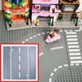 2017 New Lepin Road Plate Building Blocks Parts Bricks Plastic Bsae Plate Free shipping Birthday gift