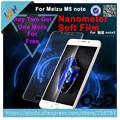 Para meizu meilan note 5 tpu protector de pantalla completa nueva tpu suave cobertura anti-explosion protector de la pantalla para meizu m5 nota