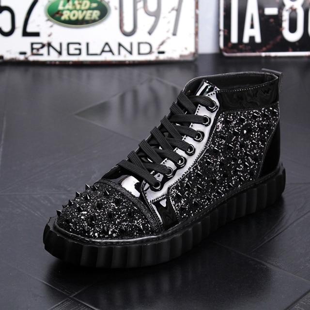 Punk High Top Hip Hop Sneakers 10