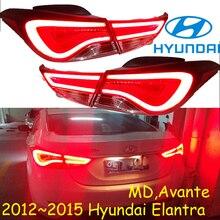 Elantra taillight,MD Avante,2012 ~ 2015, 자동차 액세서리, LED,Elantra rear light,Elantra 안개등, sonata,IX35 용 범퍼 램프