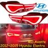 Lampada paraurti per Elantra fanale posteriore, MD Avante,2012 ~ 2015, accessori per auto, LED, elantra luce posteriore, Elantra luce di nebbia; sonata,IX35