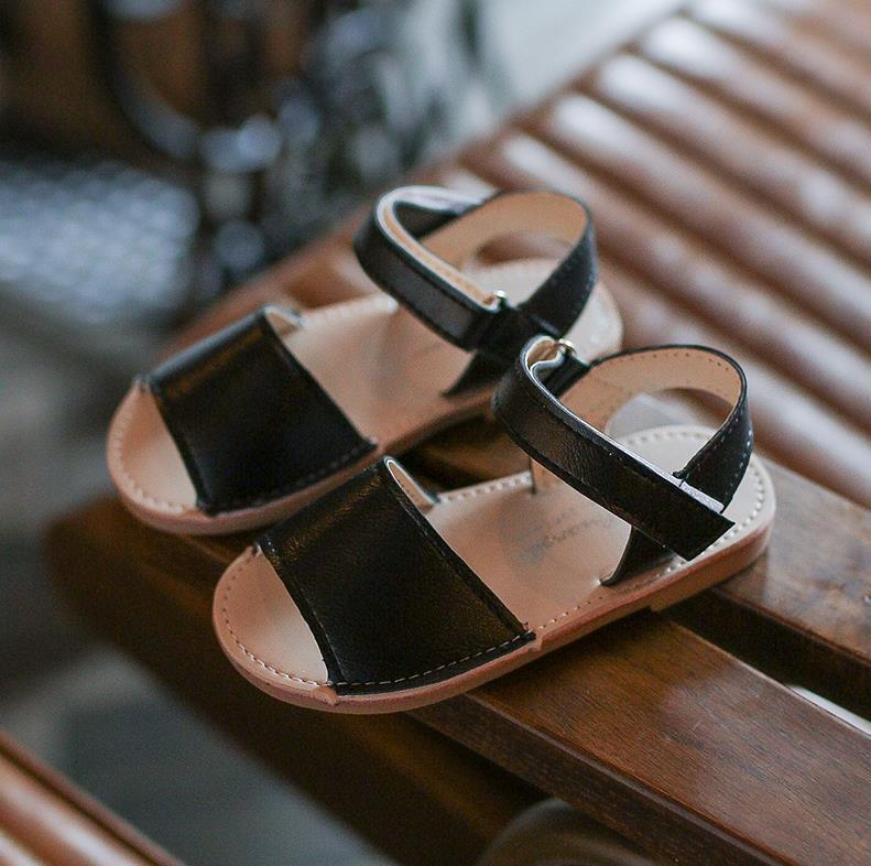 2018 new girls fashion sandals girls shoes princess pu boys sandals summer sandals shoes soft sandals
