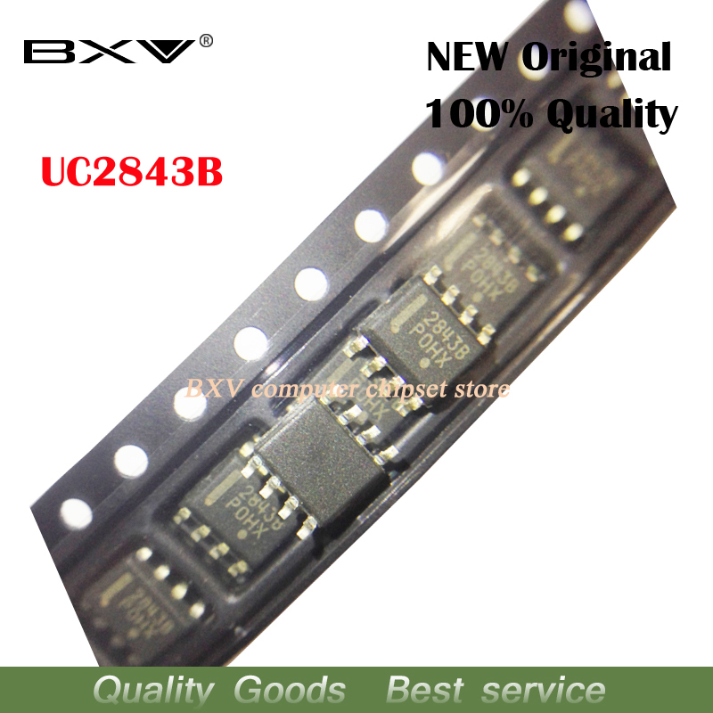 10pcs/lot UC2843BD1R2G UC2843 SOP8 2843B UC2843B New Original Free Shipping