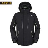 WHS 2018 Новая мужская лыжная куртка ветрозащитное теплое пальто мужская зимняя куртка мужская теплая куртка мужская умная с подогревом Лыжна