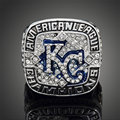 2014 World Series Replica Kansas City Royals Ring American League Championship Ring Awesome Big Size Men Ring For Fans J02119