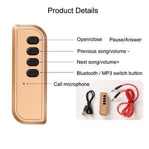 Image 5 - JINSERTA Bluetooth 4.2 récepteur 3.5mm Aux récepteur Audio Bluetooth adaptateur sans fil Support TF pour haut parleur casque mains libres
