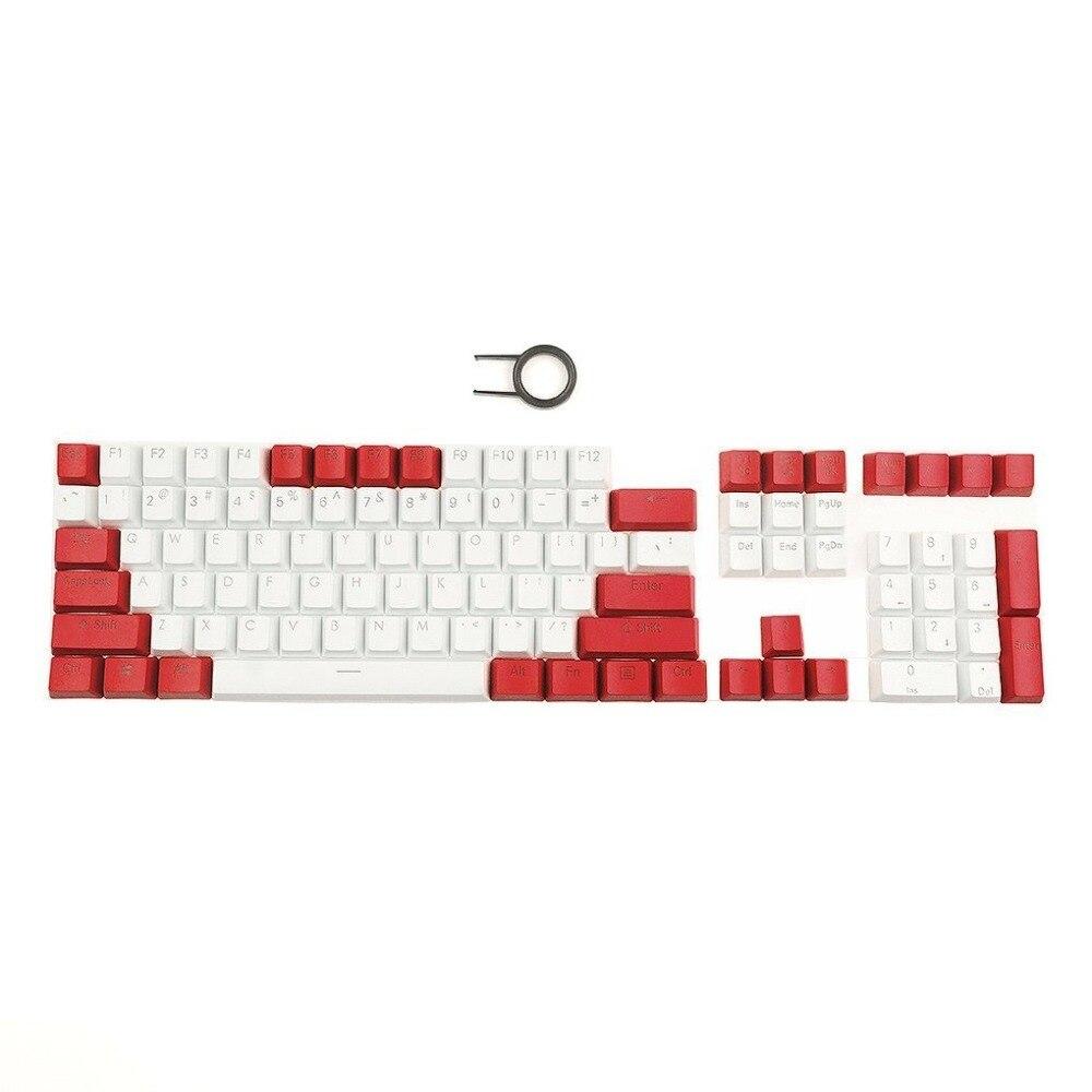 PBT Keycaps Backlit Top Print 108Keys Cherry MX Key Caps Para - Periféricos de la computadora - foto 3