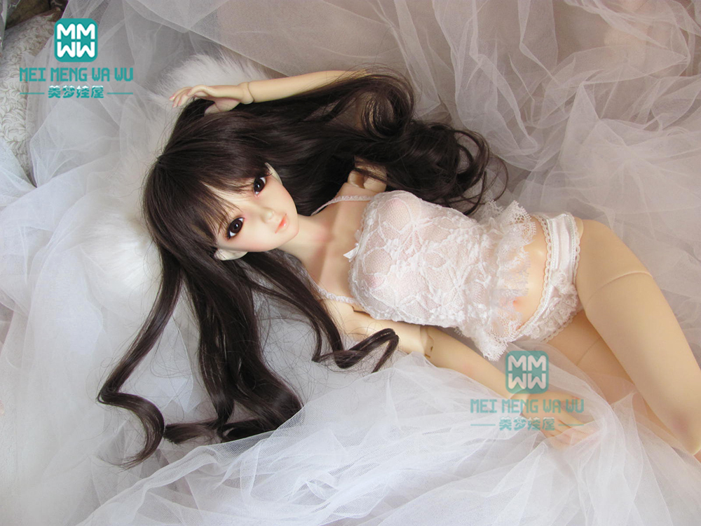 BJD Accessoreis Fashion White  Lace Underwear  Suit For 60cm 1/3 BJD DD SD Doll Clothes