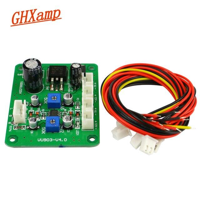 Плата драйвера GHXAMP VU Meter для индикатора уровня, дБ, усилитель уровня звука, плата драйвера 4 го поколения, 1 шт.