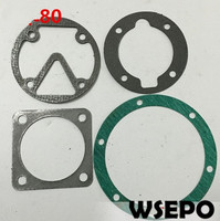 Quality Pneumatic Tools Parts! Seal Gaskets(4PC) Kit fits for DF80 80mm Bore Size Piston Type Air Compressor