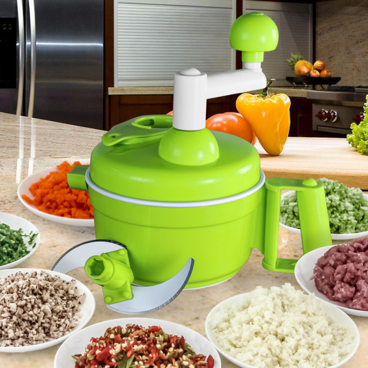 manual meat grinderhousehold hand grinding manually broken vegetable cutter food cooking device package dumplings machine