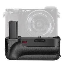 Aperto Da Bateria Vertical da câmera para Sony A6000 trabalhar com Bateria NP-FW50