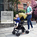 2016 Coballe New Design Luxury Folding Hight Quality Baby Stroller ,Four Wheels Single Seat