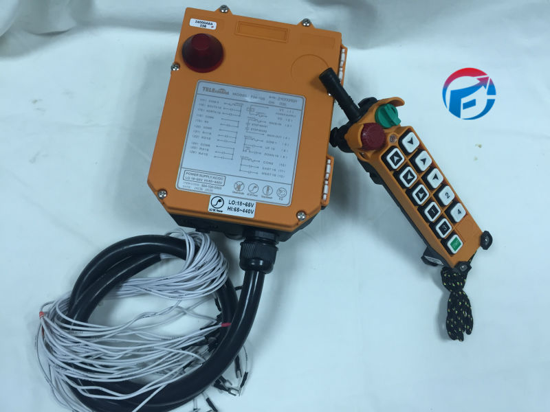 F24-10S Industrial Radio Remote Control for Hoist and Crane/Crane Remote Switches (1T+1R) AC/DC65V-440V limit switches bm 1r a2