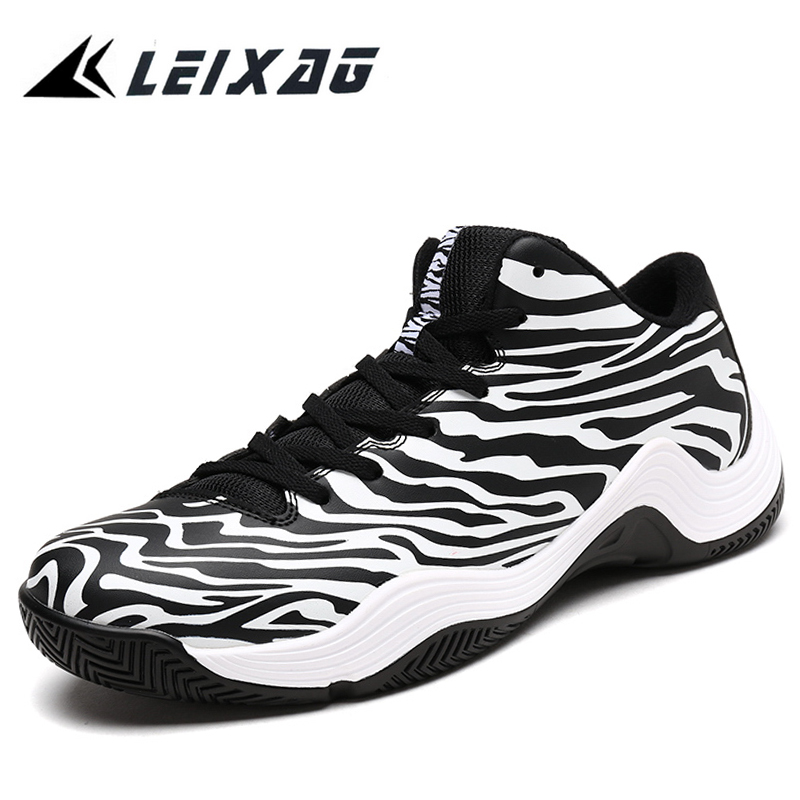 LEIXAG 2017 Autumn Men's Basketball Shoes Sneakers Breathable Sports Trainers Men Outdoor Cheap Low Basketball Boots Shoes image