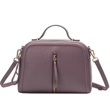 Classic Temperament Fashion Soft Genuine Leather women handbags Simple Chic bag Small Square Crossbody Bag