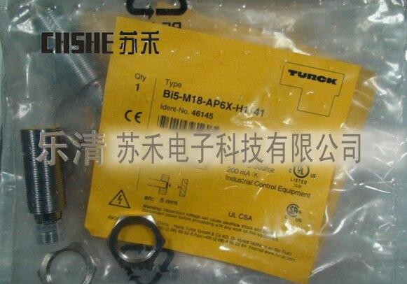 цена на Hot sale 10-65VDC  5MM Bi5-M18-VP6X-H1141 proximity switch