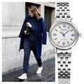 Sinobi nova moda pulseira de aço inoxidável relógios de pulso das mulheres top marca de luxo relógio de quartzo das senhoras do sexo feminino pulseira de relógio de pulso