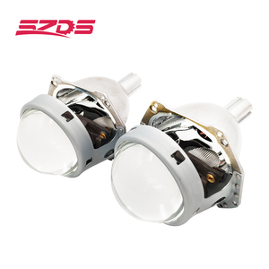 Image 2 - SZDS Car styling Auto luz da cabeça 3.0 polegada Bi xenon Lente Do Projetor HELLA H7 Sem Perdas Não destrutivo H1 H3 h4 H7 H11