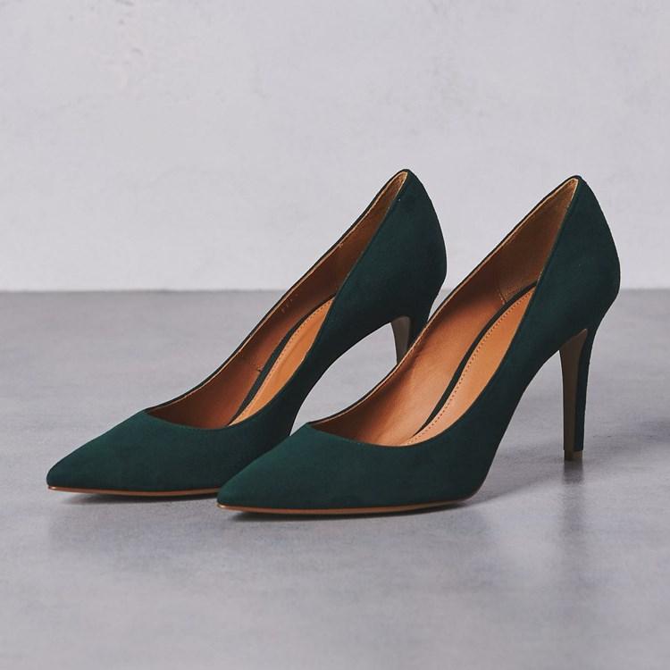 EOEODOIT Spring Autumn Concise Brief Pumps Women 8 Cm Elegance Solid High Heels Stiletto Thin Heel Slip On Sexy OL Work Shoes
